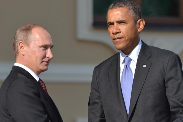 Obama: Syria 'not a contest between me and Putin'