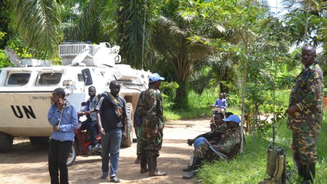 UN peacekeepers, Uganda rebels clash in DRC