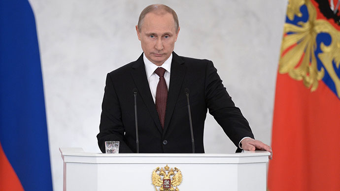 Putin lashes out at Turkey in annual address