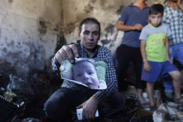 No justice for burnt Palestinian family