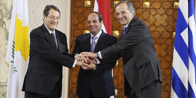 Egypt boosts ties with Greece, S.Cyprus