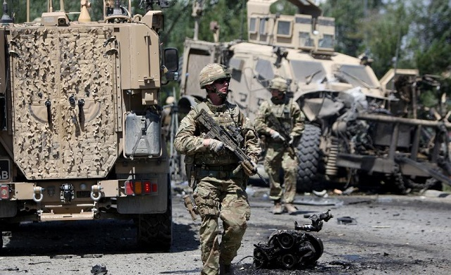 Military vehicle bombed near US airbase in Afghanistan