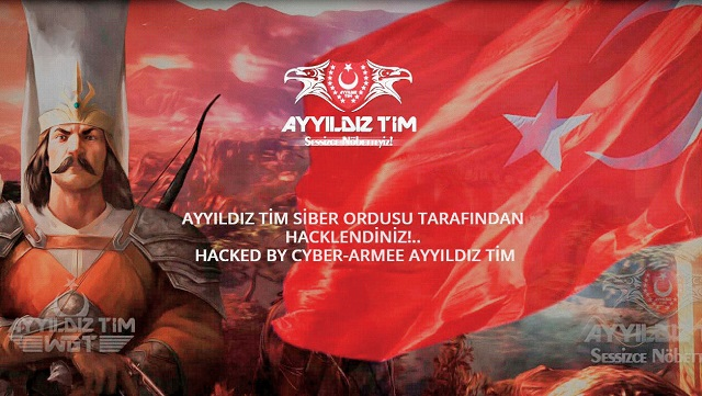 Turkish group hacked Anonymous