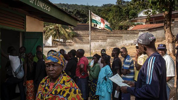Voting begins in Central African Republic elections