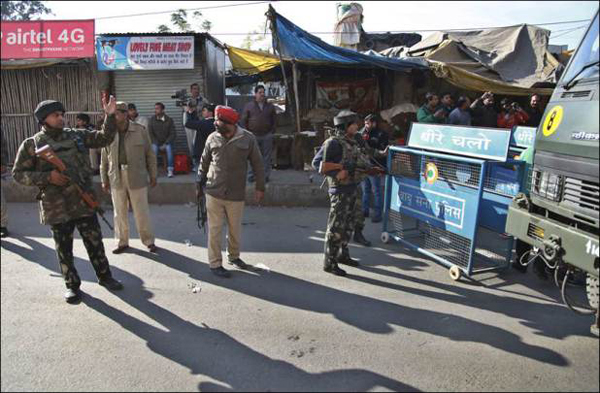 Kashmiri mujahideen's squad carried out airbase attack