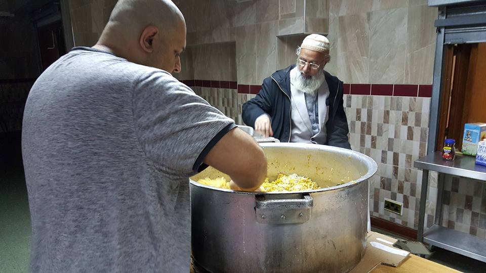 Muslims in UK Helped Flood Victims