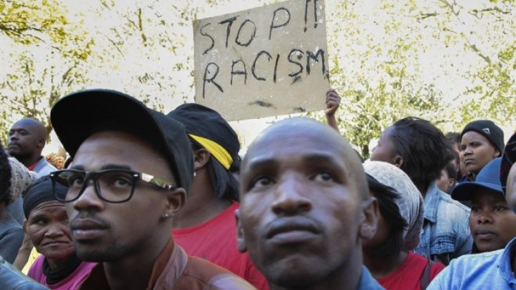 Massive march against racism in S.Africa