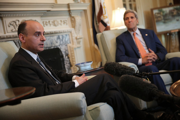 Kerry meets Saudi FM to soothe frayed ties