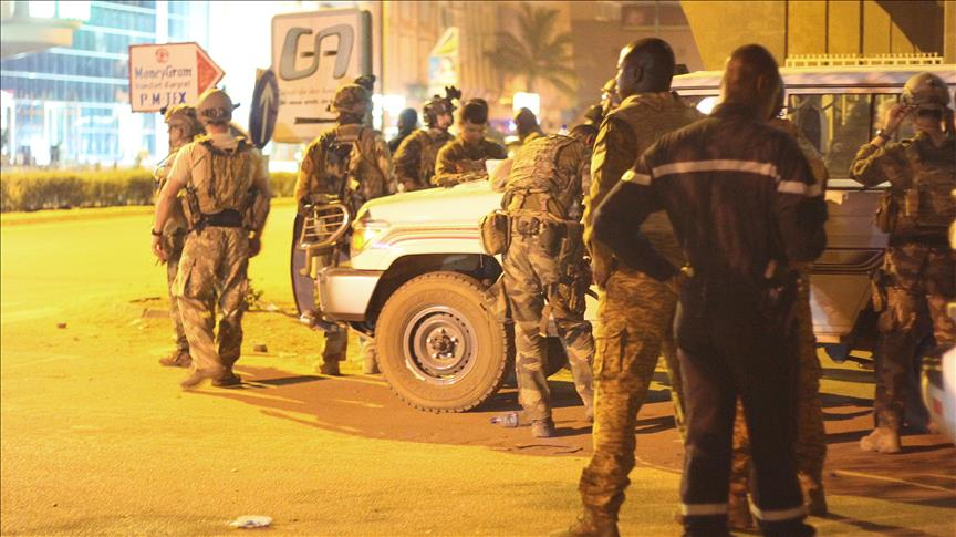 Siege ends in Burkina Faso as troops storm hotel