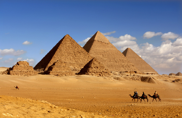 Particles could unravel secrets of Egypt pyramids