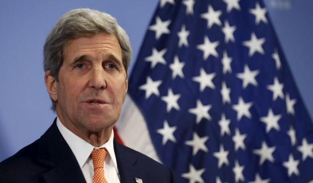Kerry arrives in Saudi for talks on Syria, Yemen wars