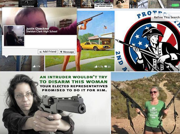 Facebook, Instagram block unlicensed gun sales