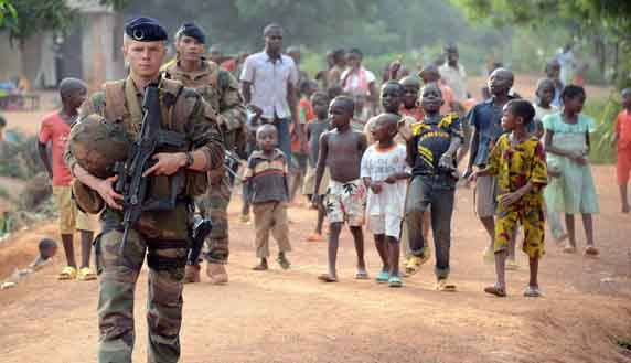 Foreign troops in new child abuse claims in C. Africa