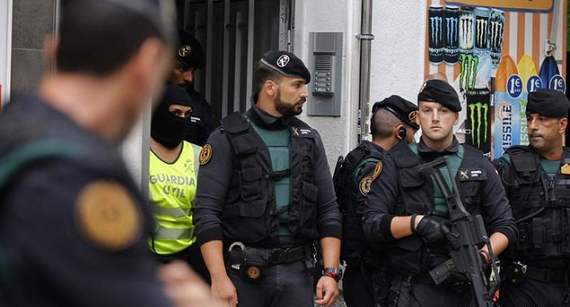 Seven arrested in Spain over extremism links