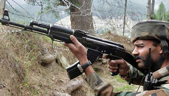 Two soldiers, four killed in Indian controlled Kashmir