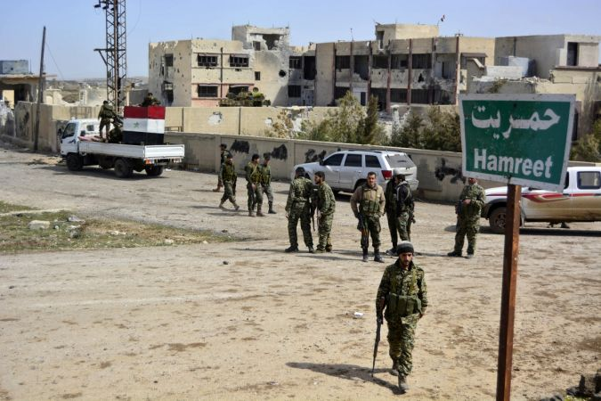Fifth convoy sets out from Syria's Daraa for Idlib