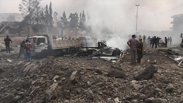 Deadly suicide bombings in Syria's Hama city