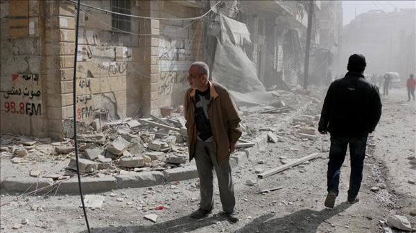 Germany urges Assad regime to stop bombing civilians