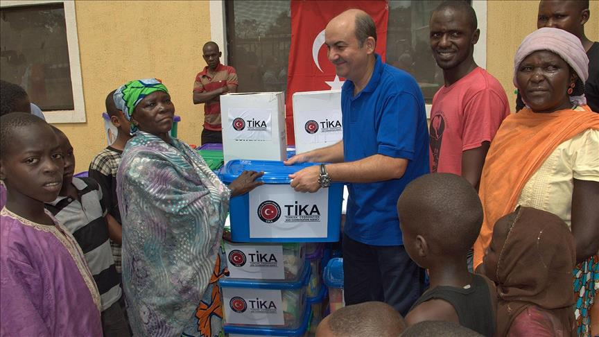 Turkey sends Zimbabwe 35 tons of aid