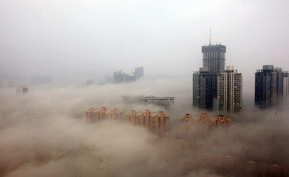 Chinese smog has silver lining for mask makers