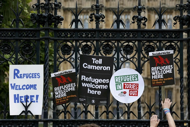 UK detained 3,600 refugees during 2015 crisis