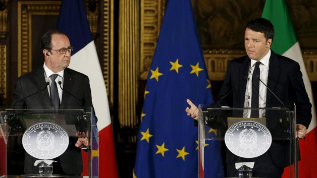 Italy, France satisfied with Turkey-EU plan for refugees