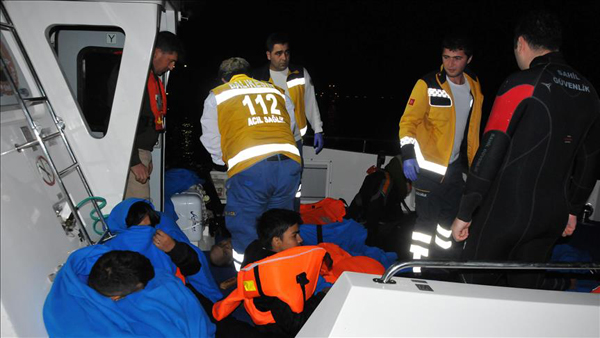Three month old baby drowns off Turkish coast