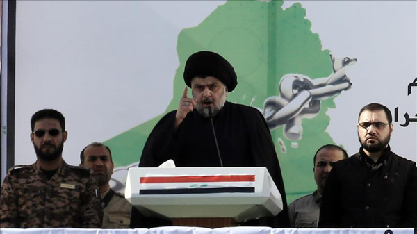 Iraq cleric calls for sit-in outside Baghdad's Green Zone