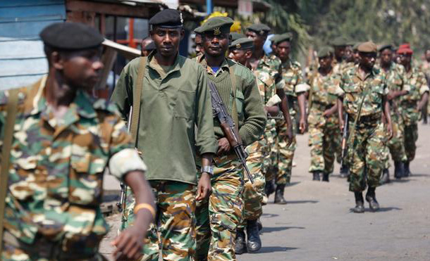 Five Burundi soldiers slain by DR Congo guards