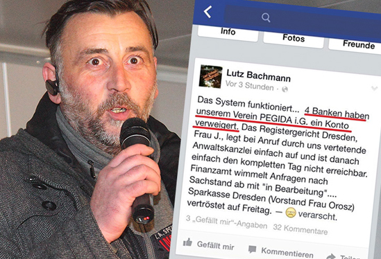 German PEGIDA leader to face court over hate speech