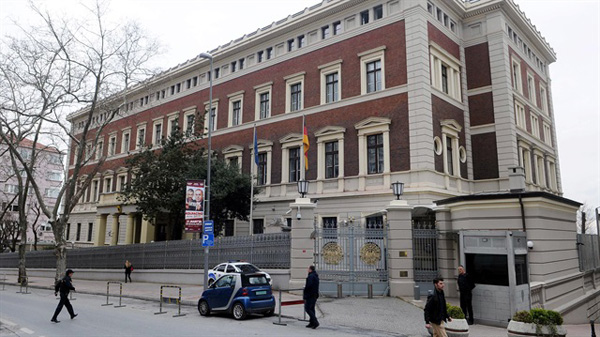 German embassy in Turkey closed for second day