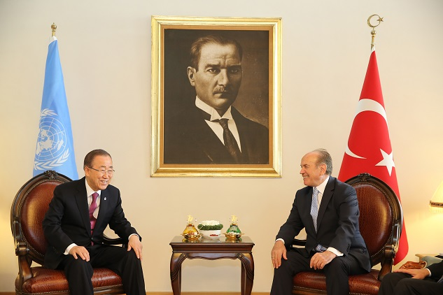UN chief meets Istanbul mayor on terrorism, refugees