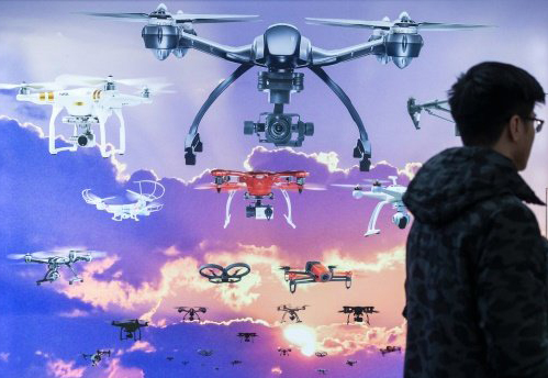 Number of US drones will nearly triple by 2020