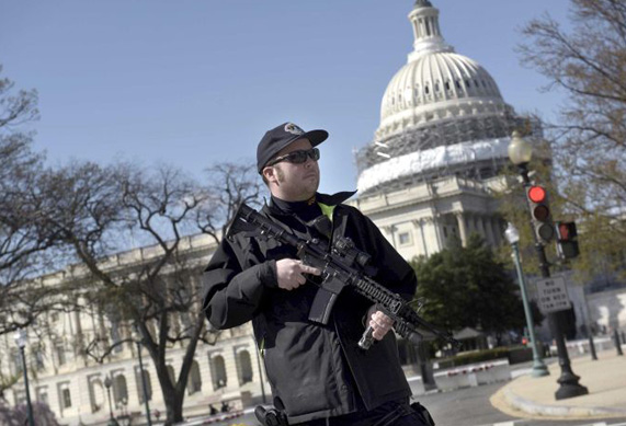 US Capitol suspect shot after drawing weapon