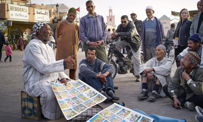 The last storytellers of Morocco