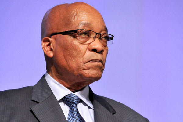 S.Africa's Zuma appears in court over graft charges