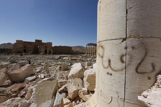 Russian navy hits ISIL targets in Syria's Palmyra