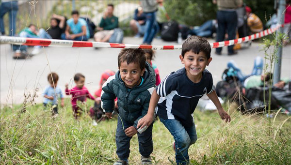 Refugees to double EU investment in them in 5 years