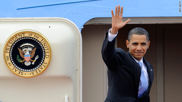 US president cuts short first visit to Spain