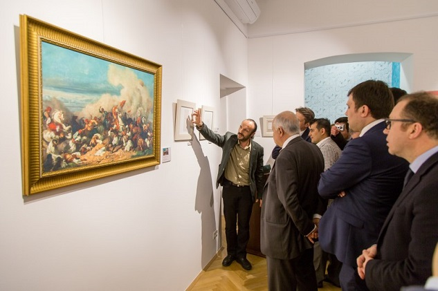 Ottoman sultan's paintings to be displayed in Paris