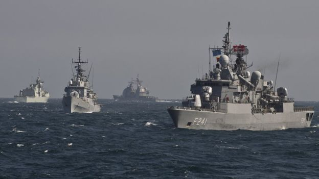 Greece urges NATO to extend mission in Aegean