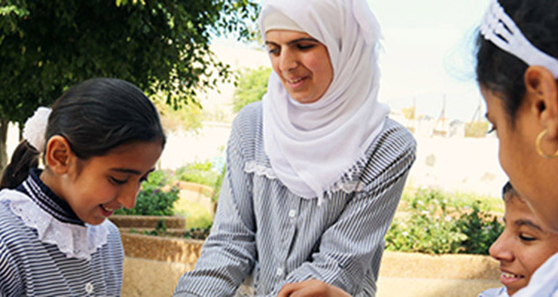 Blind Palestinian student wins UN human rights comp