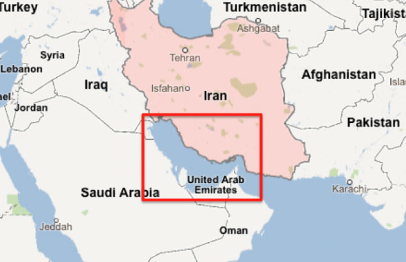 Central Asia corridor connection to Persian Gulf begins