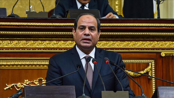 Egypt's Sisi urges vigilance ahead of planned protests