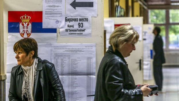 Serbs go to polls for presidential election