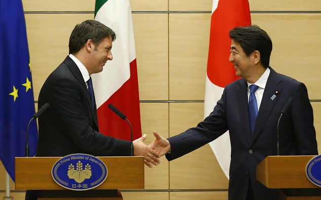 Italy, Japan urge G7 to spend for growth