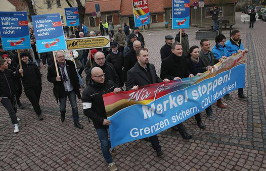 Far-right German party adopts anti-Islam policy