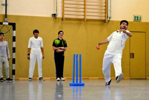 Refugees and cricket build ties in Germany