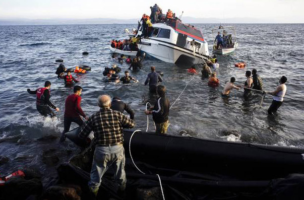 Germany's secret plans for refugees in the Aegean