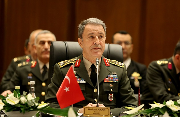 Turkey's military chief to attend NATO conference